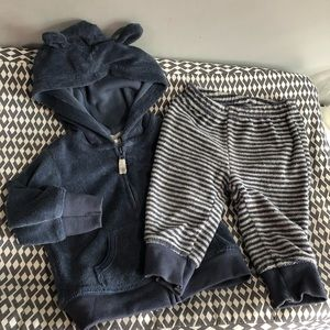 Carters jacket with matching pants